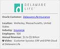 Delaware Life Case Study