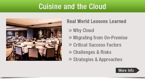 Cuisine and the Cloud