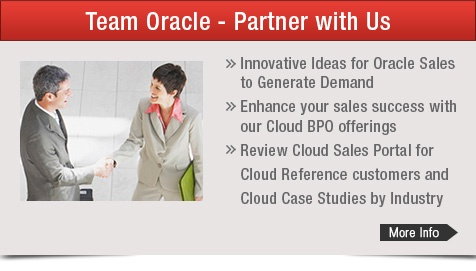 Team Oracle - Partner with Us